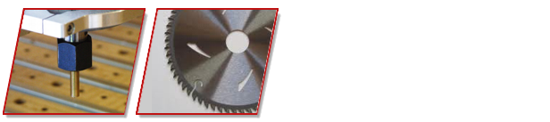 UPVC Manufacturing Blades, Cutters and Sharpening